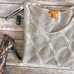 Joe Fresh Crochet Sweater